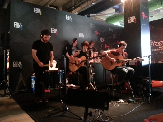 Daughter en live pour Radio Paradiso.