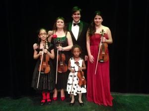 photo ensemble ame du violon