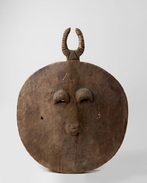 Masque de cérémonie Goli, Baoulé (Côte-d'Ivoire), av. 1963. © Tropenmuseum, Amsterdam
