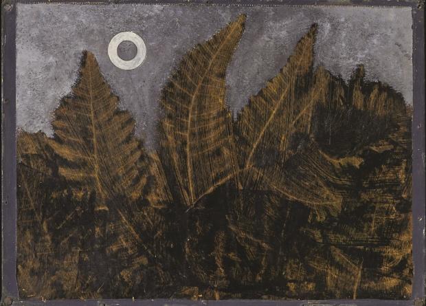 Max ERNST (1891-1976), Forêt et soleil, vers 1935. Collection privée © François Bertin, Grandvaux; 2014, Prolitteris Zurich