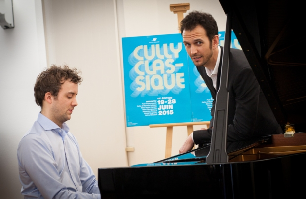 Joachim Carr et Jean-Christophe de Vries Photo: Sabrina Maniscalco