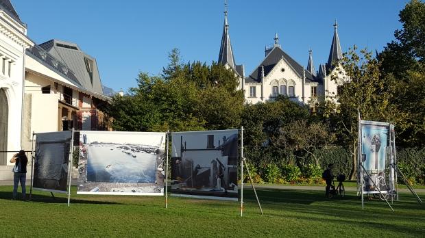 Oeuvres de J. Cortis & A. Sonderrer. Photo : SDR